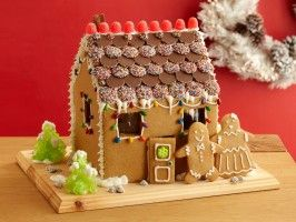 Gingerbread House and People : Recipes : Cooking Channel