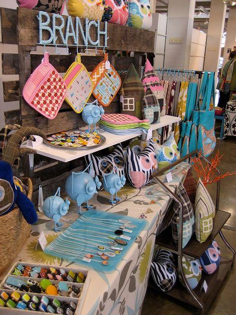 neat craft fair booth