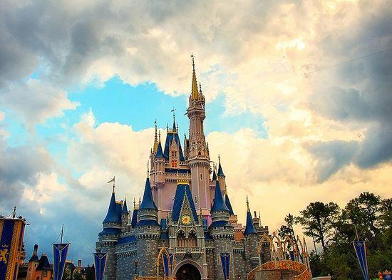 Disney - Cinderella Castle After the Storm