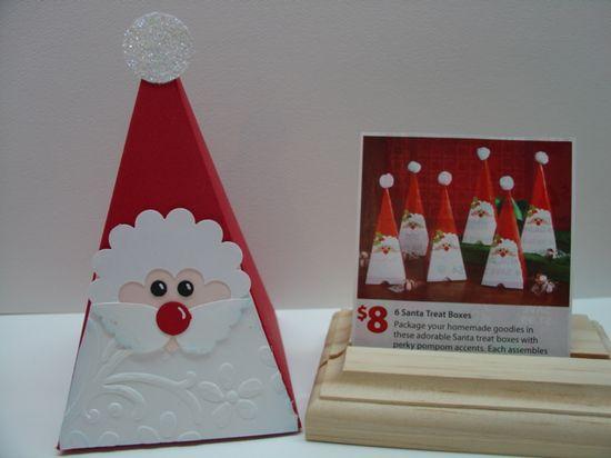 Stampin' Up! Petal Cone Die Santa
