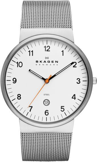 Skagen Classic Silver Stainless Steel Mens Watch - Lyst