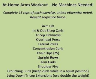At Home arms workout
