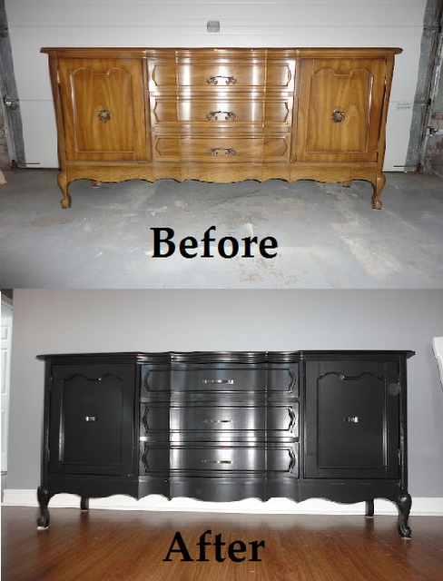 DIY # Sideboard # Furniture DIY # Before & After