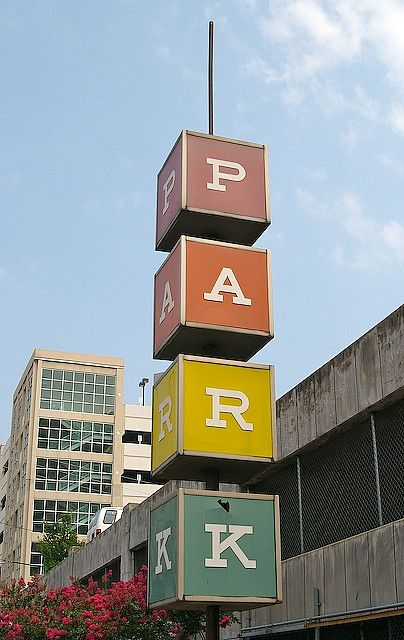 MCM Parking Ramp Sign