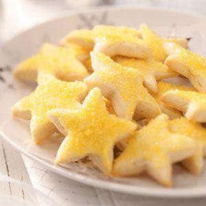Lemon Stars Cookies Recipe
