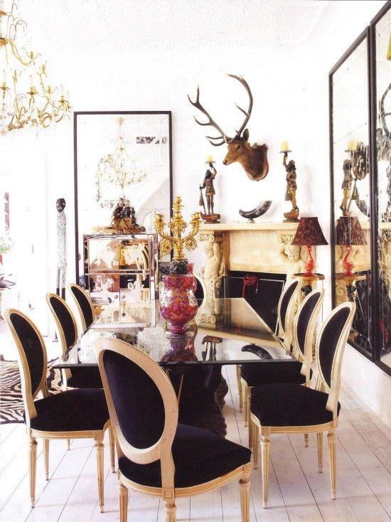glamorous dining