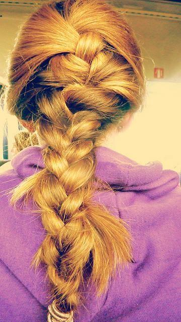messy braid