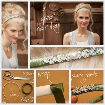 DIY Jeweled Headband : DIY Fashion by Trinkets in Bloom