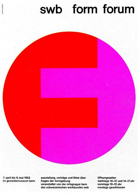 Swiss Graphic Design (possibly designed by Marcel Wyss 1962)