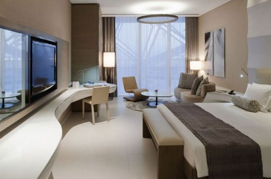 hotel interior design wallpaper