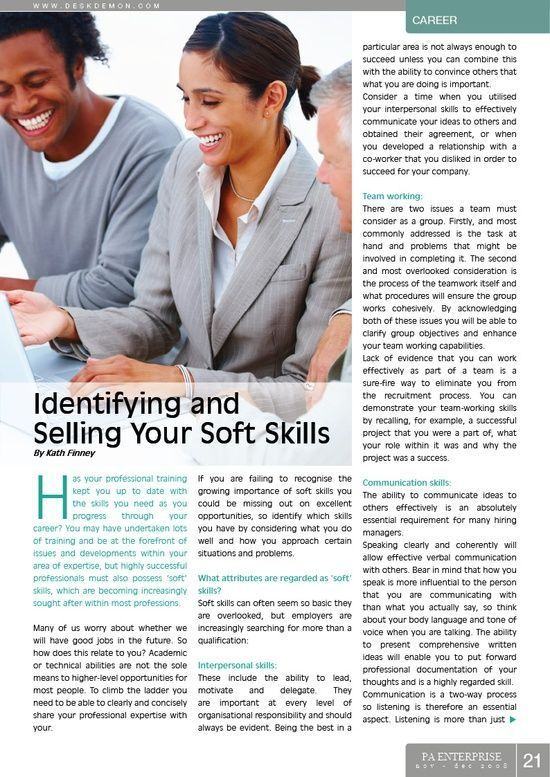 Identifying and Selling Your #self personality #soft skills #soft skills #self personality