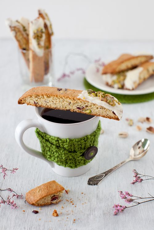 Orange-Cranberry-Pistachio Biscotti - By Beautiful Food : Cooking Melangery