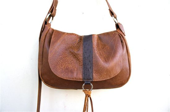 Authentic OSTRICH//LAVINIA in a Thick Cowboy Brown by arebycdesign #handbags #design #fashion #styletips