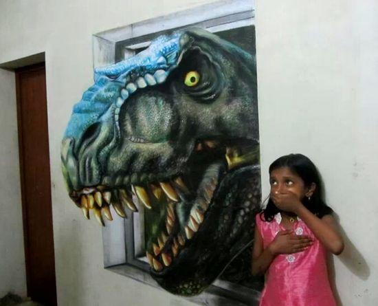 I love 3D art
