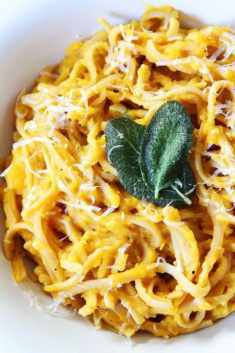 Creamy Butternut Squash Pasta Recipe A comforting and healthy pasta recipe!