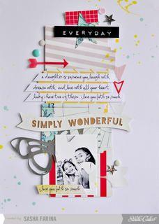 Simply Wonderful  by Sasha at Studio Calico