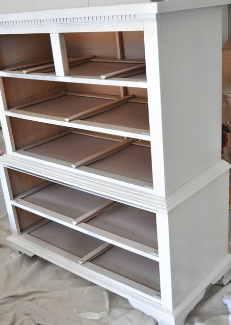 How to refinish furniture--great tips from Centsational Girl site