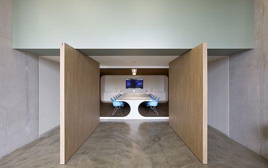 Unique office design for PostPanic