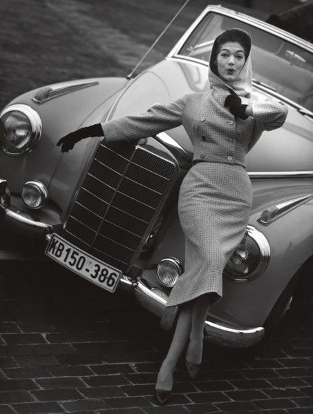 #vintage #fashion #1950s #car