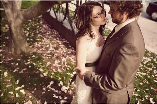 Novias con gafas / Bride with glasses