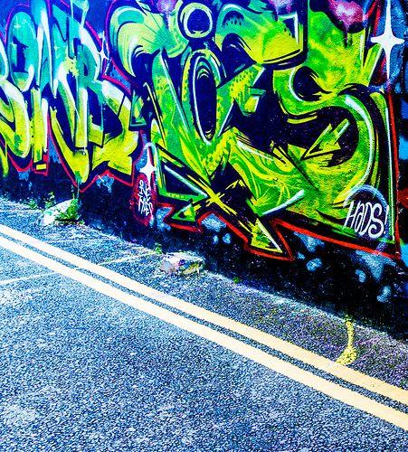 Street Art In Cork City - Crosses Green Area