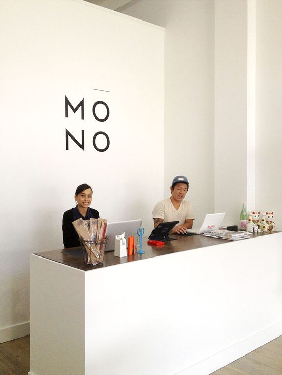 Dean and Cassy Song from Mono store, Hawaii via happymundane.com // perfect counter