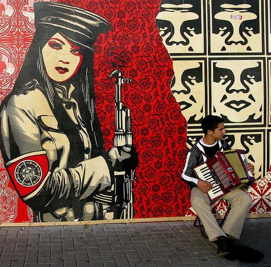 Obey, Amsterdam 1: Peace Guard #streetart #art