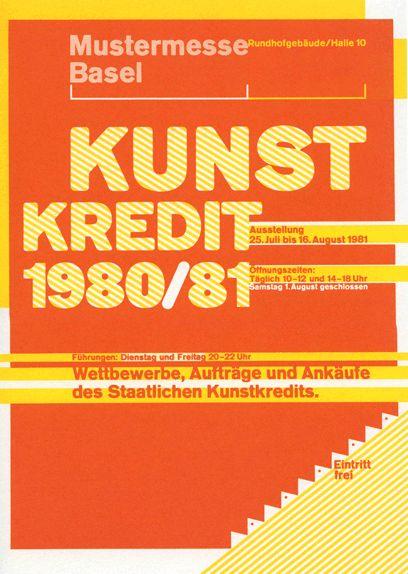 Kunst Kredit Poster 80/81