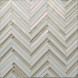 fantastic chevron glass tile