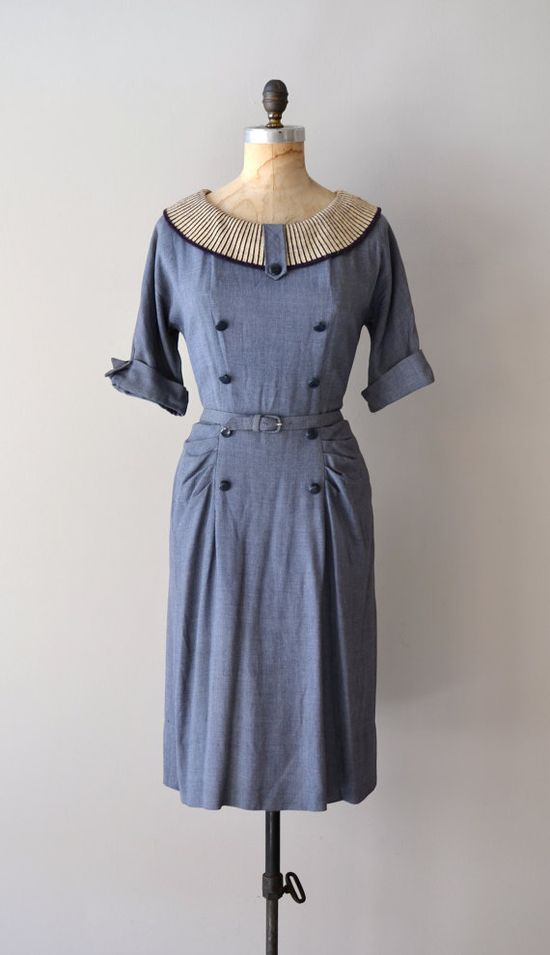 1950s Rubicon dress     #1950s #vintagedress