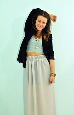 DIY Maxi Skirt!