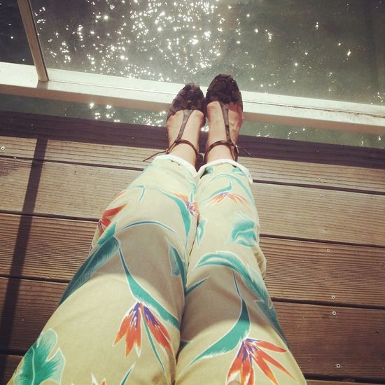 Birds of paradise man pants, Urban Outfitters