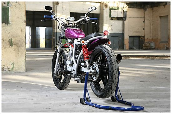 Fjodor Ritikoff's Honda FT500 - Pipeburn - Purveyors of Classic Motorcycles, Cafe Racers & Custom motorbikes