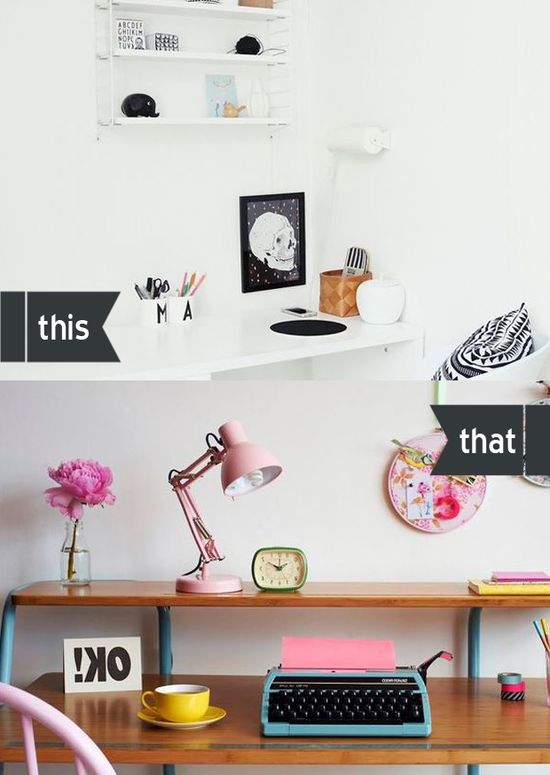 this or that - Home office