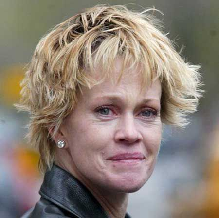 Celebrities without Makeup  Melanie Griffith