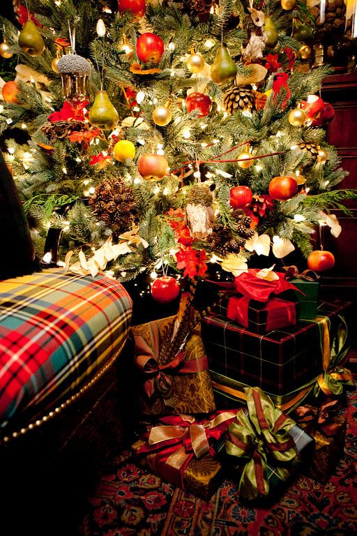 plaid and presents