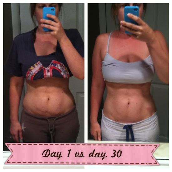 300/30 Day Ab Challenge-Results.   It only takes about 15mins a night.  thats not too much for this kind of results.