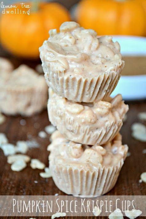 Pumpkin Spice Cookie Cups