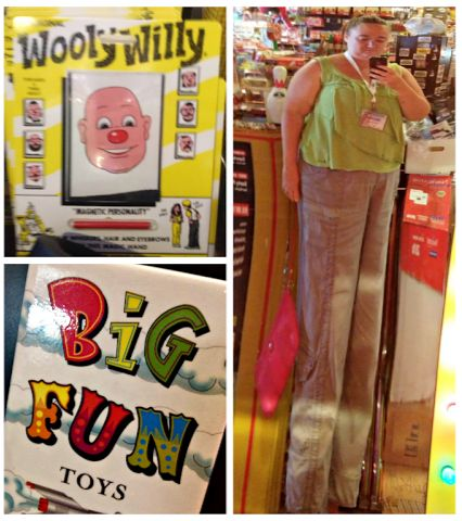 Road Trip: Cleveland - Big Fun Toy Store & Hodge's - great fun and great food!