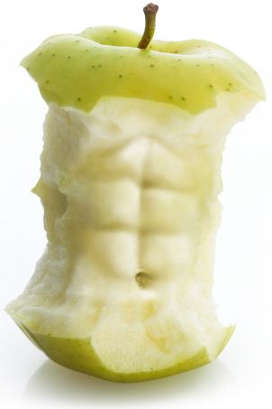 Abs are made in the kitchen! #health #fitness #weightloss