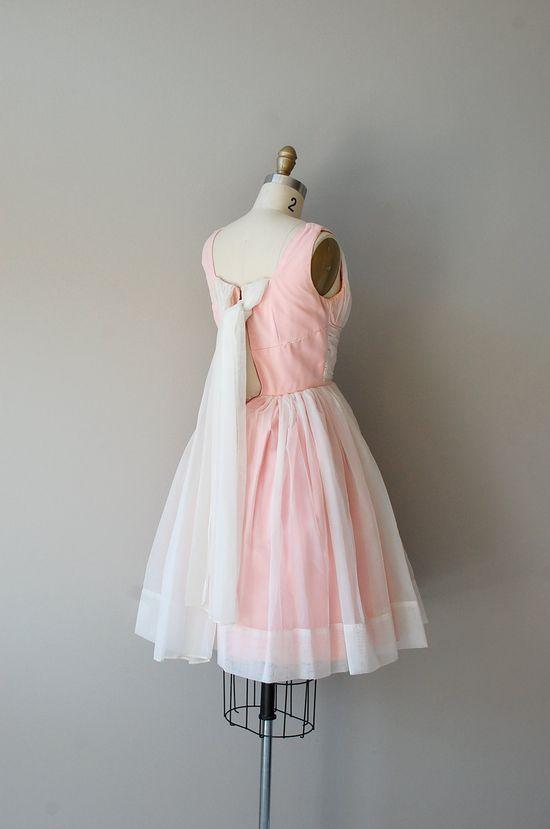 vintage 50s dress #prom