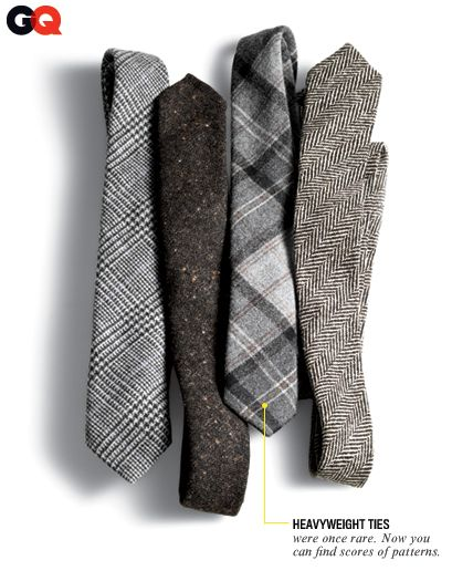 flannel and tweed