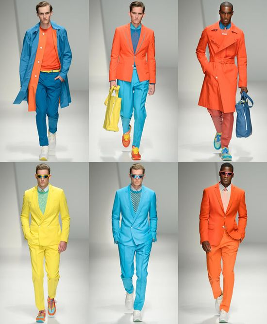 Neon & Fluorescent Colors. Salvatore Ferragamo