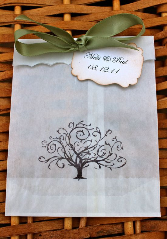 Whimsical Tree Glassine Favor Bags & Tags  4 by JacquelynVaccaro, $7.50