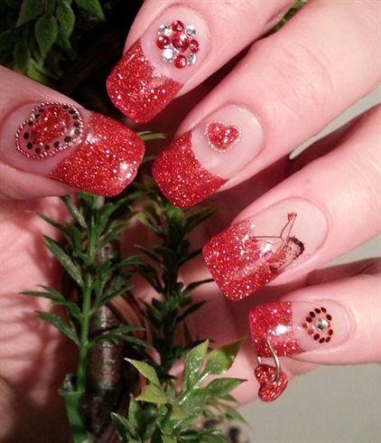 bettyboop valentine by nails4love - Nail Art Gallery nailartgallery.na... by Nails Magazine www.nailsmag.com #nailart