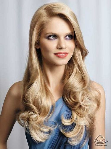 Glamorous #Blonde #Hair