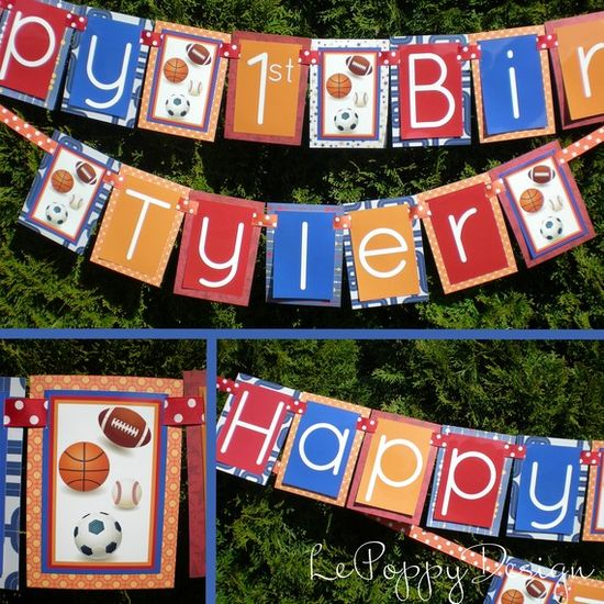 Sports Birthday Party Decorations