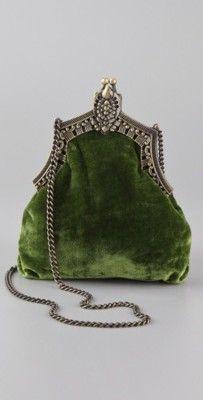 Handbag clutch vintage