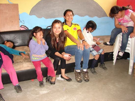 Volunteer Abroad Lizenia Pazmin Guatemala Quetzaltenango Health Care and Children's Program 3 weeks September 26 to October 15 , 2013