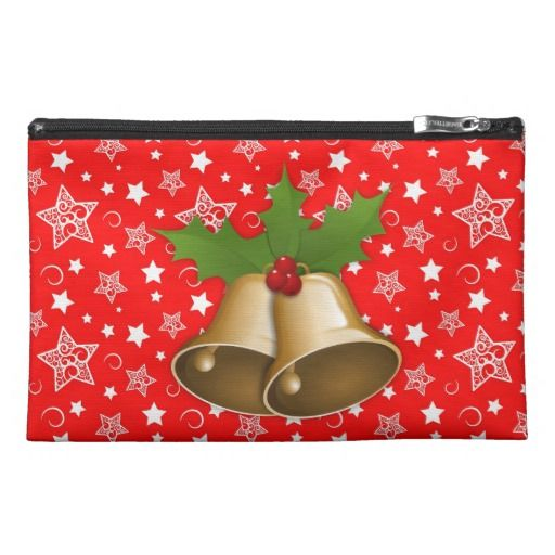 Christmas Bells Travel Accessory Bag